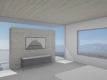 Palm Springs Modern Bedroom